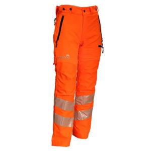Treehog Hi-Viz GO/RT Chainsaw Trousers