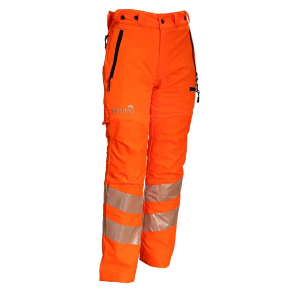 Treehog Hi-Viz GO/RT Chainsaw Trousers