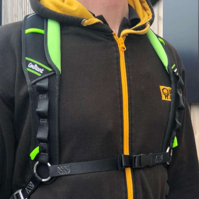 NEW from @couranttreecare is the Koala 🐨 chest harness which works in conjunction with the main harness when you need extra support with a larger chainsaw -  It can also be used as an SRT chest harness.    #honeybrothers #courant #treeclimbingharness #arborist #arb #arblife #arbgear