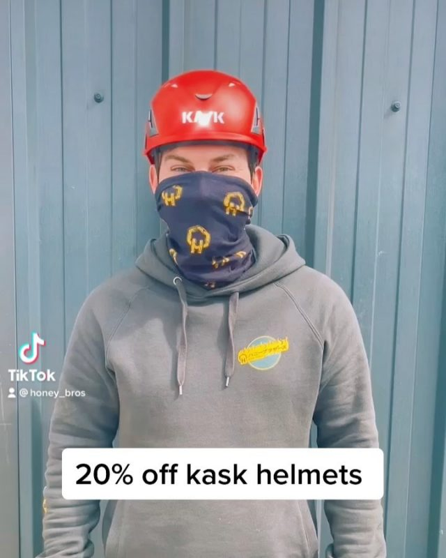 20% off chipper spec @kask_safety helmets this weekend only!#honeybrothers #honeybros #kask #kaskhelmets #arb #arborist #treesurgeon #treeclimber #arbhelmet