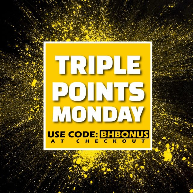 ⚠️ Triple Points MondayEnter code BHBONUS at checkout to triple your honey points on your purchase.Every pound spent = 1 point.#honeybros #arborist #bankholidaydeal #bankholidaybonus #honeybrothers #treesurgeon #arblife #arbgear #triplepoints