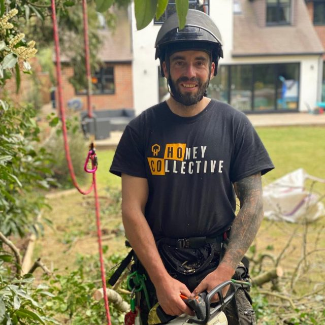 Introducing the Honey Collective team, bringing you fresh content from the canopy! 🌳 ‼️We want to work with genuine arborists, climbers and foresters to get their opinions and outlook on products, ways of working and the industry which is why the Honey Collective was created. 🍯Here is a bit more about the team involved:Lee Harper @leeroy_00 started his arb career in 2001 working for his dads company and from there has worked for local tree companies and as a lead climber for Banstead and Reigate council. Currently Lee is employed by Merlin Entertainments carrying out tree works for theme parks and Go Ape. Lee enjoys being outdoors and visiting arboretum's, seeing live music and also loves motorbikes.Cathrine Kåsen @frkkaasen lives in Norway is a mum of 3 and has been a full-time forestry worker for the past 3 years which has improved her fear of heights! She loves hiking and nature and enjoys that her job makes her strong and allows her to enjoy the beautiful forest surroundings.Sean Thompson @atattooedarborist is one half of the honey brothers splice towers team, a father of one and a qualified arborist and outdoor instructor. Working as an instructor for the Bear Grylls team since 2017 and then becoming a qualified arborist in 2018, gave Sean his passion for the outdoors. In his spare time Sean loves to be out in the outdoors whether it's fishing, camping, hiking or spending time with his little girl Raven and dog Hunter.Ben Conan @conan_tree is a foreman for Charterhouse Treecare and started his journey into the arboriculture world in 2001 when he qualified from Merrist Wood. Ben competed in the UK and Ireland competitions between 2006 and 2009 and then won the AA 3 TC in the expert section in 2009 and 2010. He has worked all over the South East of England as well as Stockholm in Sweden and is very pleased to be able to impart his knowledge and be a part of the collective team.Content incoming from these four over the coming months 🚀#honeycollectiveteam #honeybrothers #honeybros #arborist #arb #arboristsofinstagram #treesurgeon #treeclimber #forestry #arbgear