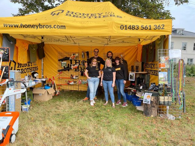 The HB team are down at Shalford Fair today, pop down and say hi if you're a local in the area! 😎  #honeybrothers #honeybros #shalfordfair #shalford #surreyfair